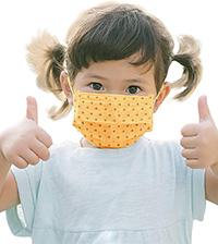 Organic Cotton Covid Mask for Children